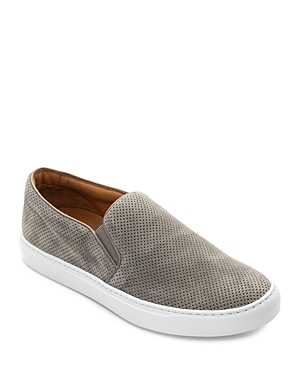 To Boot New York Men\\\'s East End Perforated Suede Slip-On Sneakers (Clearance)