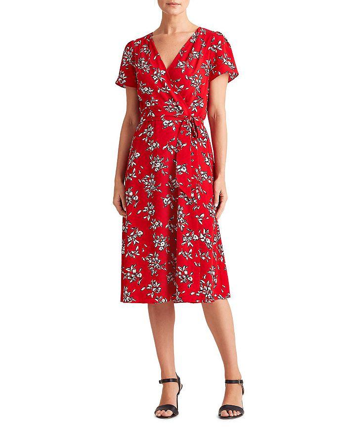 Ralph Lauren - Floral Print Belted Dress