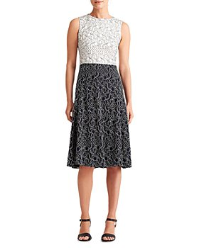 Ralph Lauren - Two Tone Lace Dress