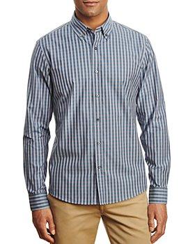 Michael Kors - Cotton Stretch Checked Shirt