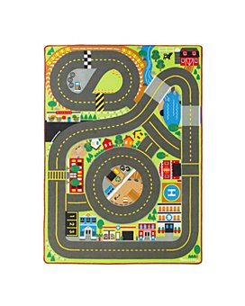 Melissa & Doug - Jumbo Roadway Activity Rug - Ages 3+