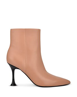 Sigerson Morrison - Women's Norman Pointed Toe High Heel Booties