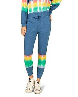 Vintage Havana - Rainbow Paradise Tie Dyed Jogger Pants