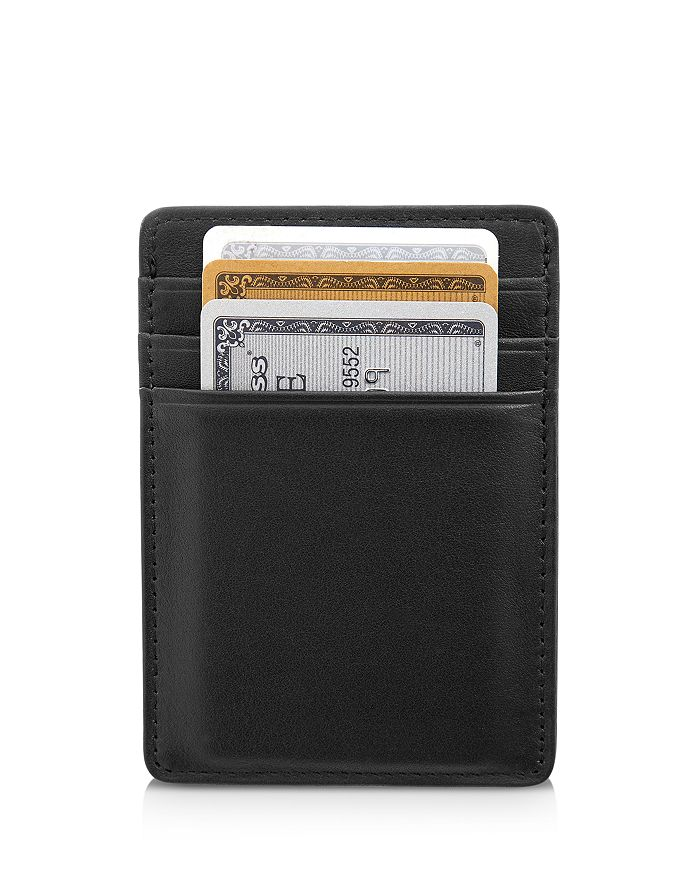 ROYCE New York - Leather Magnetic Money Clip Wallet