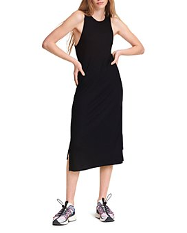 rag & bone - The Knit Rib Zip Midi Dress