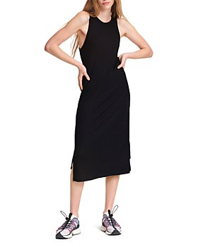 rag & bone - The Knit Rib Zip Midi Dress
