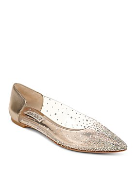 Badgley Mischka - Women's Gabi Slip On Embellished Flats