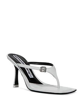 Alexander Wang - Women's Ivy 65 Embellished High Heel Thong Sandals