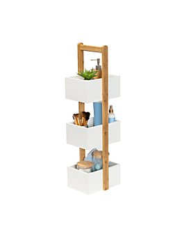 Honey Can Do - International 3 Tier Bathroom Storage Caddy, White