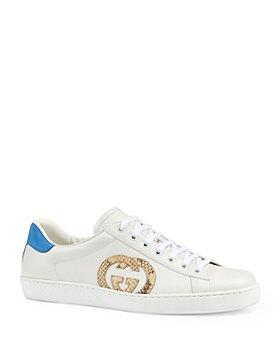 Gucci - Men's Ace Interlocking G Sneakers