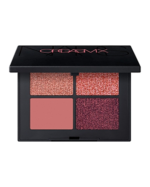 What It Is: A limited-edition Quad Eyeshadow in two new shades: Orgasm and Orgasm X. Intensify eyes with a duo of Quad Eyeshadows inspired by bestselling Orgasm and New Orgasm X, because too much is never enough. Matte, shimmer, shine. Anywhere, anytime. What It Does: Pigment Powder Suspension technology delivers incredible payoff via pigments suspended in a liquid binding system to create rich, high-impact color in one stroke. The addictive, velvety texture blends easily to create a smooth, eve