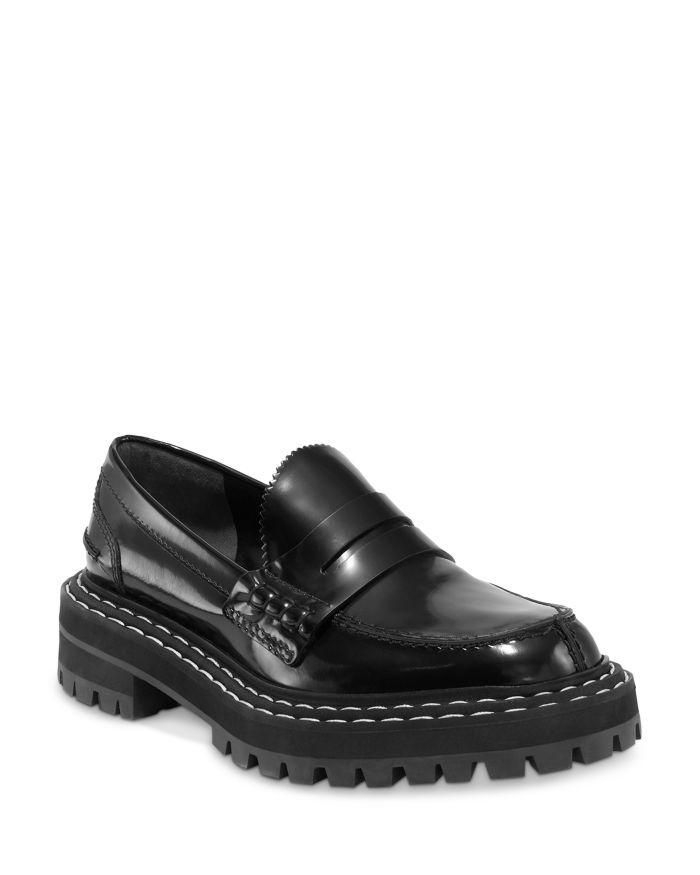 Proenza Schouler Women's Slip On Lug Loafers    Bloomingdale's