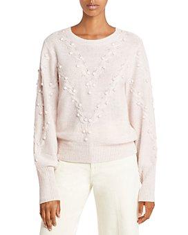 AQUA - Popcorn Cable Cashmere Sweater - 100% Exclusive