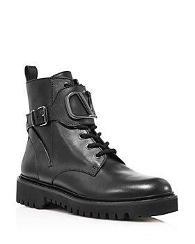 Valentino Garavani - Women's V Hardware Combat Boots