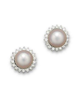 zircon round earrings gold-plated Daeou Mens earrings stud.
