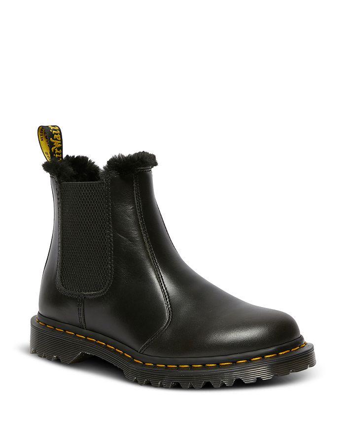 Dr. Martens - Women's Chelsea Faux Fur Lined Boots
