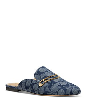 COACH - Women's Sawyer Chambray Loafers