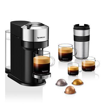 Nespresso - Vertuo Next Deluxe by De'Longhi, Pure Chrome