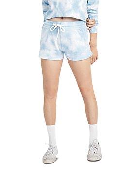 ALTERNATIVE - Tie Dyed Cozy Shorts