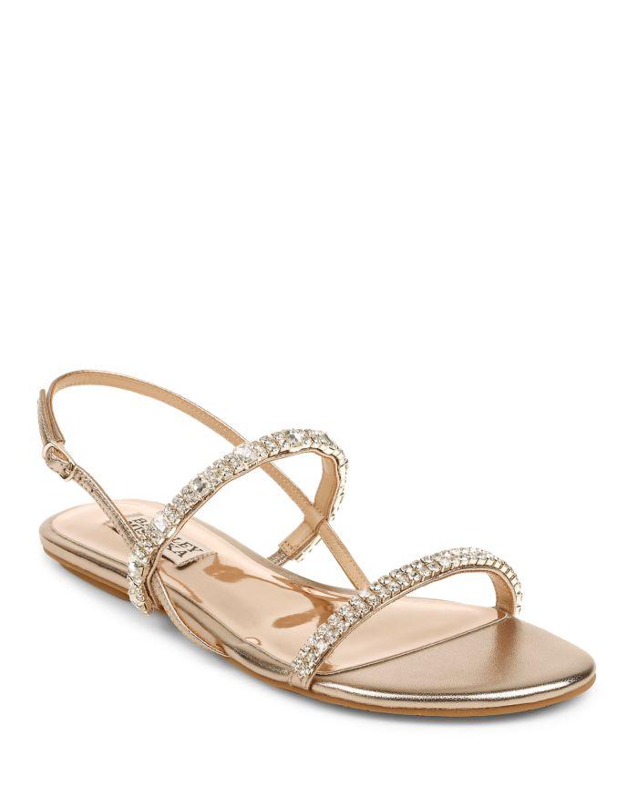 Badgley Mischka Women's Zandra Strappy Sandals    Bloomingdale's