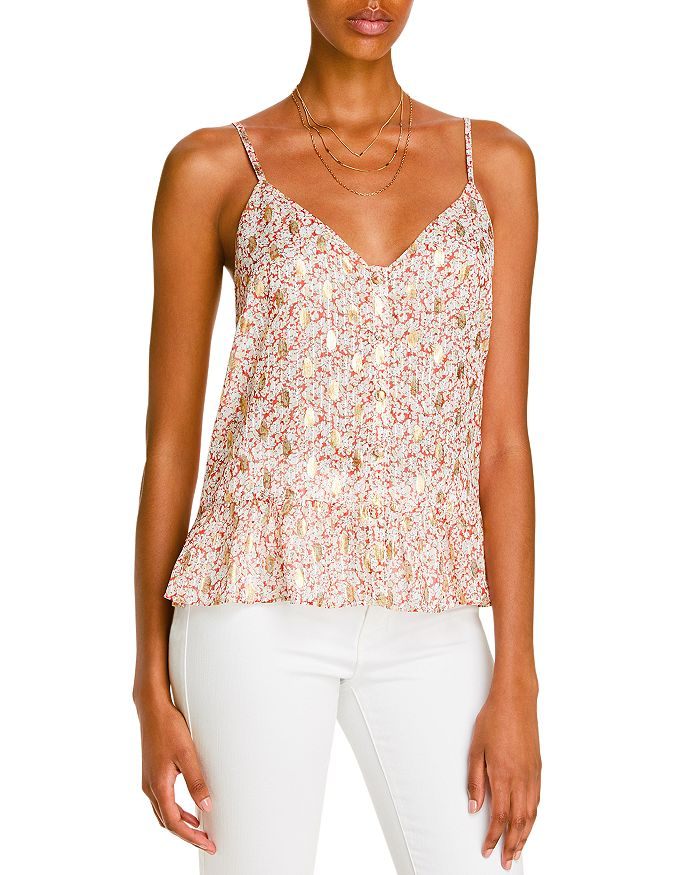 Lini Cordelia Printed Cami Top - 100% Exclusive In Ivory