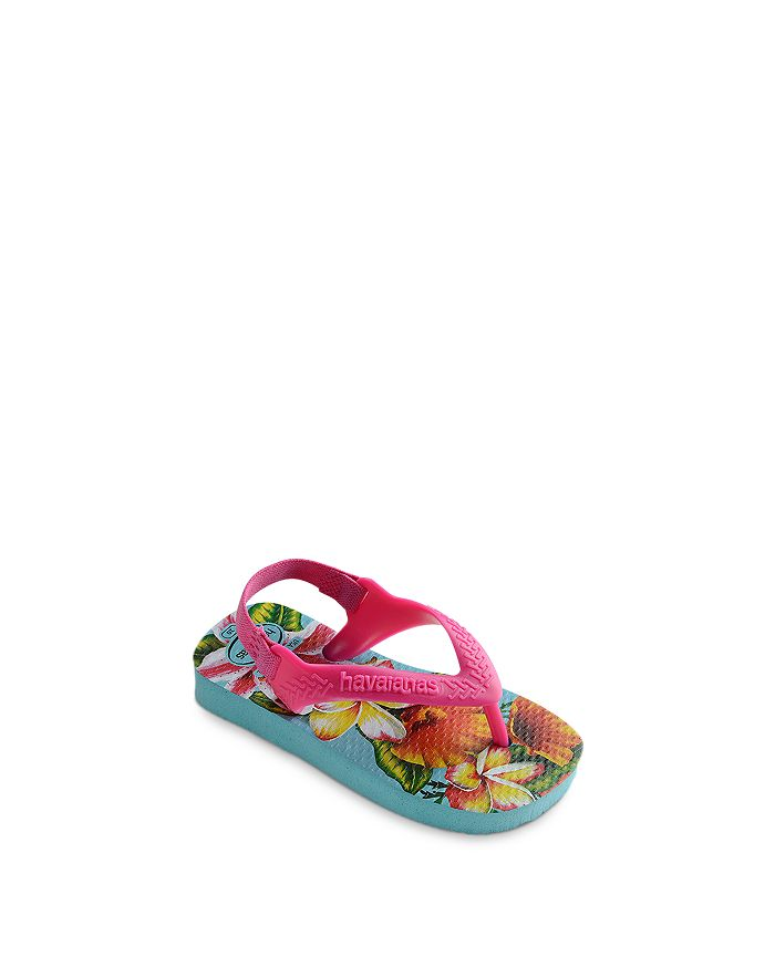 havaianas - Girls' Baby Chic Tropical Print Sandals - Baby, Walker, Toddler