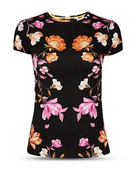 Ted Baker - Arbyele Floral Print Top
