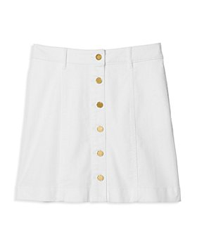 MICHAEL Michael Kors - Denim Button Front Skirt