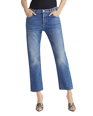 Mother The Scrapper Ankle Jeans in Cowboys Don\\\'t Cry-Women