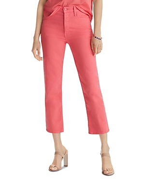Mother Cropped jeans THE TOMCAT CROPPED JEANS IN PARADISE PINK