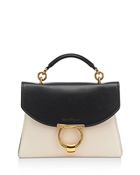 Salvatore Ferragamo - Margot Small Color Block Leather Handbag