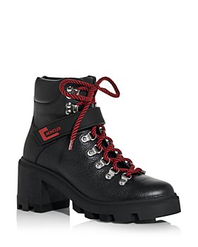 Moncler - Women's Carol Block Heel Hiking Boots