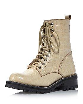 AQUA - Women's Jes Lace Up Boots - 100% Exclusive