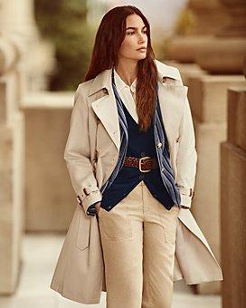 Ralph Lauren - Lauren Ralph Lauren x WONDER WOMAN Striped Blazer, Roll Tab Cardigan & Linen Pants