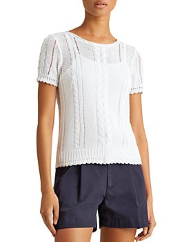 Ralph Lauren - Cable Linen & Cotton Sweater