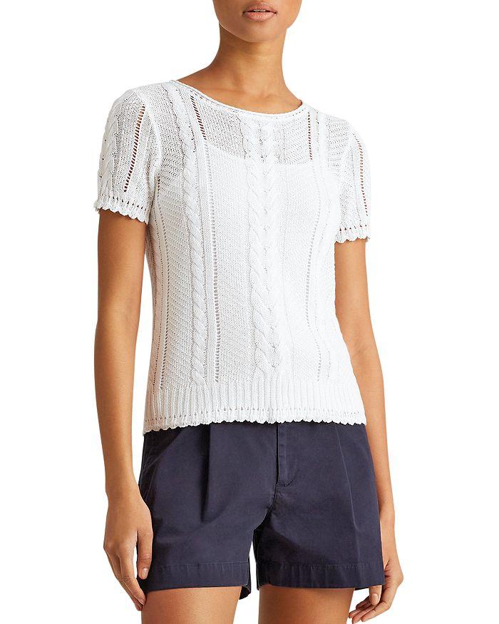 Ralph Lauren - Cable Linen & Cotton Sweater