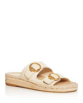 Tory Burch - Women's Selby Espadrille Slide Sandals