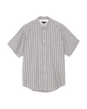 rag & bone - Tomlin Slim Fit Button Down Short Sleeve Shirt