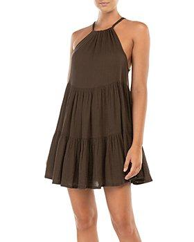 Peony - Tiered Mini Dress