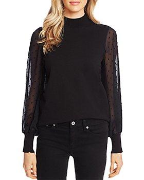 CeCe - Clip Dot Sleeve Sweater