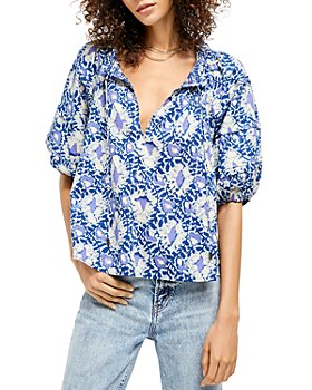 Free People - Willow Printed Blouse