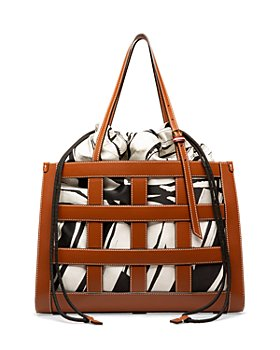 Bally - Calie Medium Leather Cage Tote