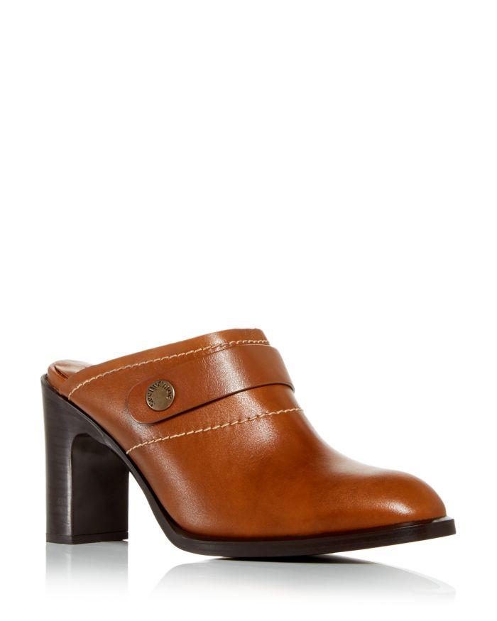 See by Chloé Women's Annia High Heel Mules     Bloomingdale's