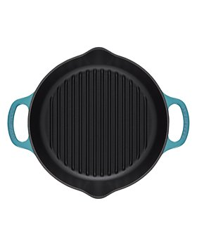 """Le Creuset - 9.75"""" Deep Round Grill"""