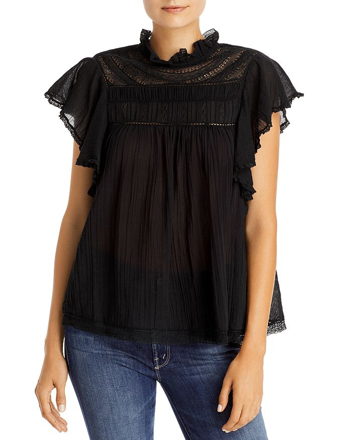 Lini Ileana Top - 100% Exclusive In Black
