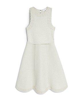 Sandro - Ariane Embellished Knit Dress