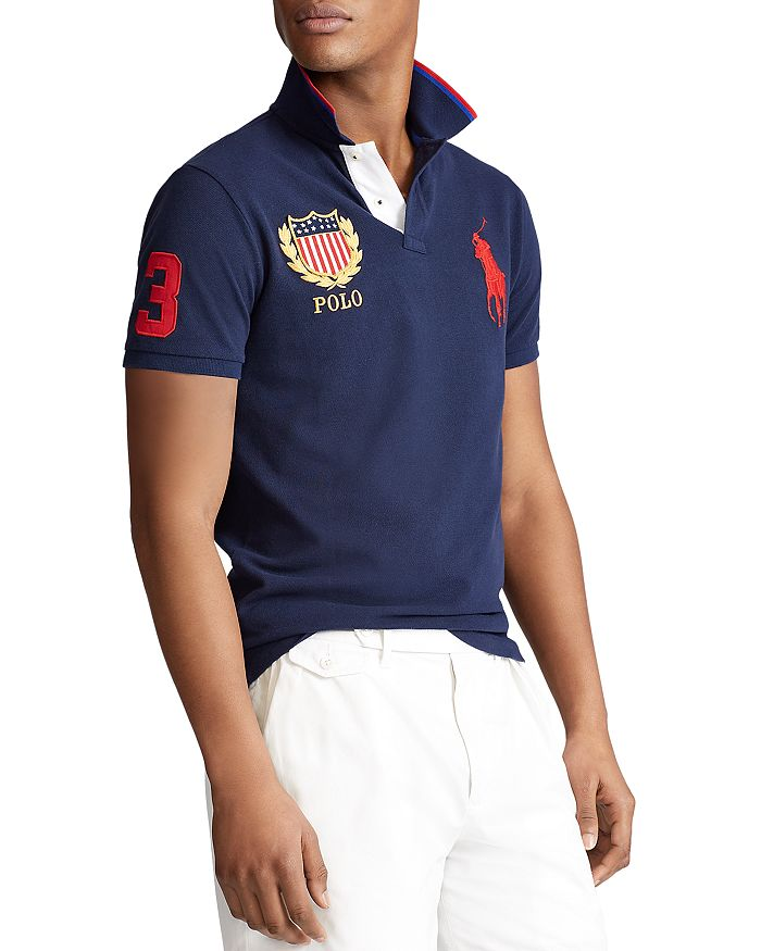 Polo Ralph Lauren - Cotton Custom Slim Fit Mesh Polo Shirt