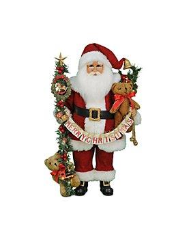 Karen Didion Originals - Lighted Musical Santa
