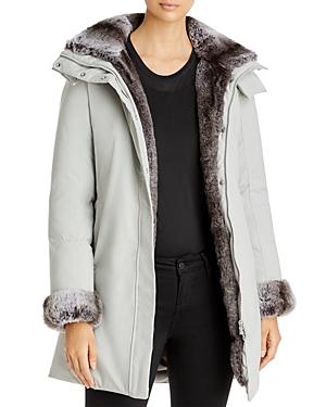 Save The Duck Arctic Faux Fur Trim Parka-Women