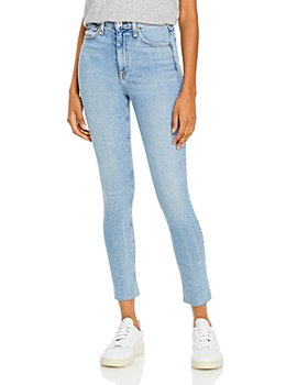 rag & bone - Nina High Rise Ankle Skinny Jeans in Eastwood